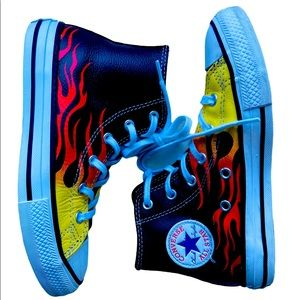 Converse Boys Sneakers flare size 13.5